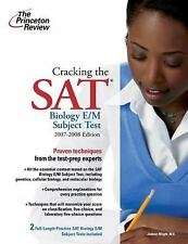 Cracking the SAT Biology E/M Subject Test, 2009-2010 Edition (College -ExLibrary