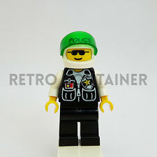 LEGO Minifigures - 1x cop036 - Policeman - Omino Minifig Cop Sheriff 6332 6636