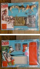 VINTAGE ACTION MAN 40th CARDED/BOXED EXPLORER RIVER CRAFT + SLEDGE & DOG TEAM