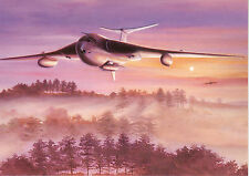 RAF Handley Page Victor British bomber blue steel nuclear missile Blank card