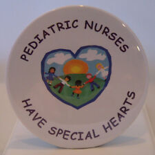 PEDIATRIC NURSES GIFT - FUN NEW BUTTON - UNIQUE NURSE, MEDICAL AND TEACHER GIFTS