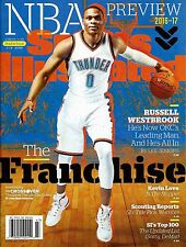 New Sports Illustrated 2016 NBA Preview Russell Westbrook No Mailing Label