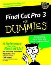Final Cut Pro3 For Dummies (For Dummies (Computers))