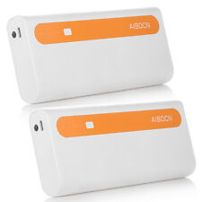 2x 10000mAh Portable Battery Charger Power Bank For iPhone 6S Plus Samsung Phone