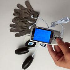 10 Modi Massager elettrico Decine LCD EMS macchina + massaggio Guanti e granate