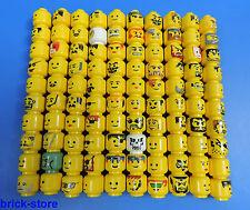 LEGO Figuren Köpfe / Gesichter  / 5 Stück