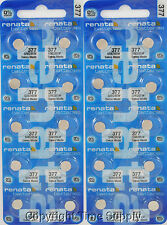 25 pc 377 Renata Watch Batteries SR626SW FREE SHIP 0% MERCURY