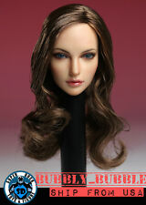 1/6 Female Head Sculpt American European A For Hot Toys Phicen SHIP FROM USA