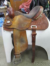 "Circle Y Big Dreams Kelly Kaminski Barrel Saddle 15"" Lightly Used NICE"