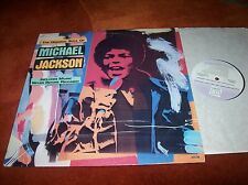 MICHAEL JACKSON - the original soul of.. ..vinyl LP 1987 promo copy u.s.a.