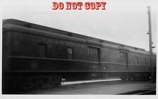 6G635 RP 1950s CANADIAN NATIONAL RAILROAD EXPRESS CAR 8604 MONCTON NEW BRUNSWICK