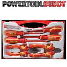 VDE SCREWDRIVER & PLIER SIDE CUTTER SET 1000V INSULATED 7PC