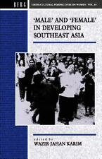 Male and Female in Developing South-East Asia (Cross-Cultural Perspect-ExLibrary