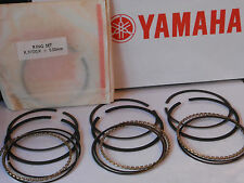 YAMAHA XS750 XS750 SE (1J7) PISTON RING SETS (3) NEW NOS +0.50mm EARLY ENGINE