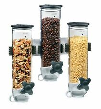 New Food Storage Container Cereal Dispenser Kitchen Dry Food Rice Candy Canister