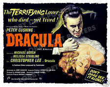 DRACULA ( HORROR OF ) LOBBY CARD POSTER 1958 BQ CHRISTOPHER LEE PETER CUSHING