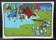 figurines cromos los pitufos cards figurine i puffi 117 panini 1982 the smurfs f