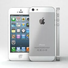 IPHONE 5 32GB - MUY ACEPTABLE - BLANCO + FUNDA DE REGALO