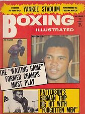 SEPT 1973 BOXING ILLUSTRATED vintage boxing magazine MUHAMMID ALI