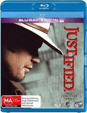 JUSTIFIED - COMPLETE SEASON 1 2 3 4 5 6 box set -  Blu Ray - Sealed Region B