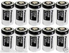 10 Panasonic DL-CR2 CR2 Lithium Photo Batteries Exp. 2024