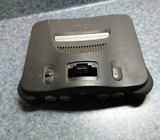 Nintendo 64 Console Video Game System Console only Tested N64 Black Charcoal