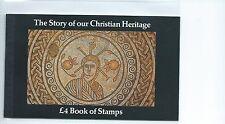 Leucocitos. GB-sello de prestigio folletos - 1984-DX5-patrimonio cristiano