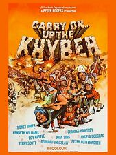 """Carry on up the Khyber 1968 16"""" x 12"""" Reproduction Movie Poster Photograph 2"""