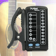 LED Automatic Guitar Tuner Tuning Clip-On Digital Electronic for Acoustic Guitar
