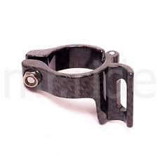TOKEN TK181 Carbon Appearance Front Derailleur Clamp, 28.6mm, 29.5g Black
