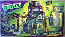 Teenage Mutant Ninja Turtles TMNT Secret Sewer Lair Playset MISB/ hot toys