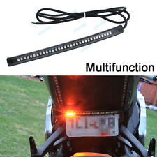 Universal Motorcycle Running Brake Turn Signal Integrated LED Stop Light Strip