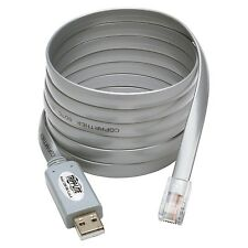 Tripp Lite Usb To Rj45 Cisco Serial Rollover Cable, Usb Type-a To Rj45 M/m, 6
