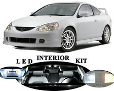 LED Package - Interior + License Plate + Vanity + Reverse for Acura RSX 14 Pcs