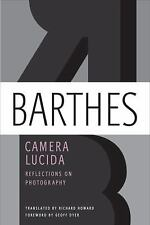 Camera Lucida : Reflections on Photography by Roland Barthes (2010, Paperback)