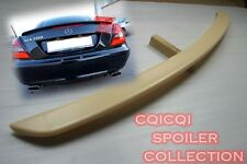 Painted MERCEDES BENZ 04-10 R171 SLK AMG type trunk spoiler color-650 white ◎