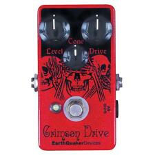 EarthQuaker Devices Crimson Drive Germanium Overdrive Guitar Effect Pedal - NEW!