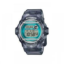 Casio Baby-G Shock BG169R-8B Brand New Womens Gray Teal Whale Digital Watch