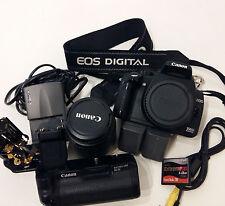 Fotocamera Canon EOS 350D reflex digitale + obiettivo 18-55 + accessori