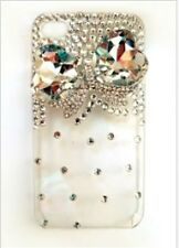 3D handmade Swarovski iPhone Case--Bow Design