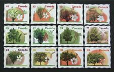 D1123 CANADA 1991-95 Fruits Trees #1363-74 set of 12 stamps Mint NH