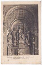 BELLUNO CITTÀ 97 INTERNO CHIESA ALTARE Cartolina VIAGGIATA 1914