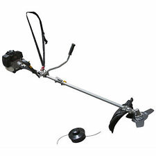 "PowerKing 43cc 2-in-1 COMBO 17"" Trimmer & 10"" Brush Cutter"