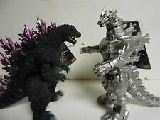 NEW Japan Bandai Millenium shine pruple spine +  Mechagodzilla 2016 (set of 2)