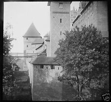 LIESEGANG Glass Magic lantern slide MARIENBURG CASTLE NO3 C1910 POLAND