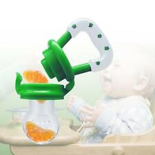 Fruit Vegetable Dummy Feeder Pacifier Soother Nipple Teether for Baby Green BG