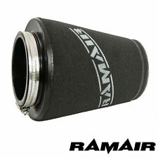 RAMAIR INDUCTION FOAM AIR FILTER UNIVERSAL CONE 70mm NECK MADE IN THE UK