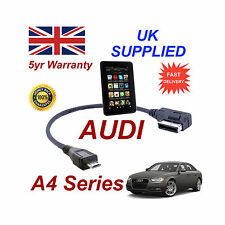 AUDI a4 per Cavo 4f0051510m Series Amazon Kindle Fire HD MICRO USB Audio connessioni di rete