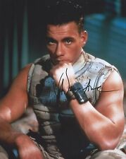 "Genuine 10"" x 8"" Signed Photo of Jean Claude Van Damme"