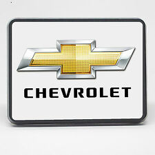"""Chevrolet Bowtie Chevy - 2 inch (2"""") Trailer Hitch Cover Plug, Tow Hitch Cover"""